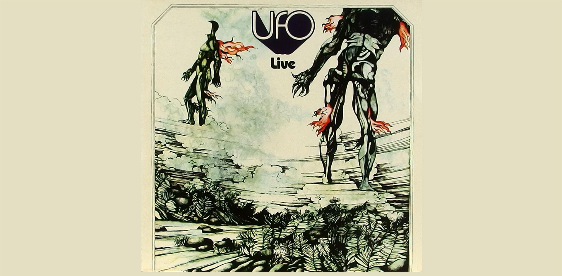 LP Cover: UFO - Live - 1972